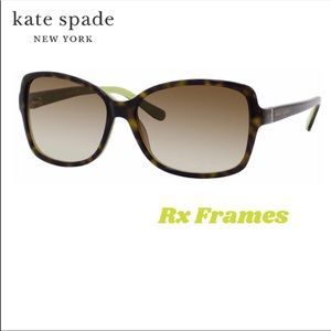 kate spade ♠️ Ailey Rx Sunglasses Oversized Tortie